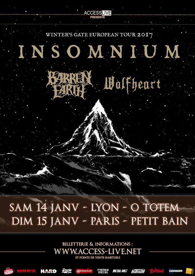 Insomnium barren earth wolfheart