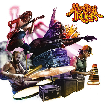 Monster truck true rockers album cover