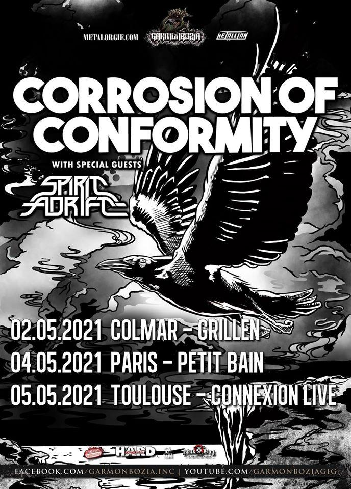 Corrosion of conformity france 2021