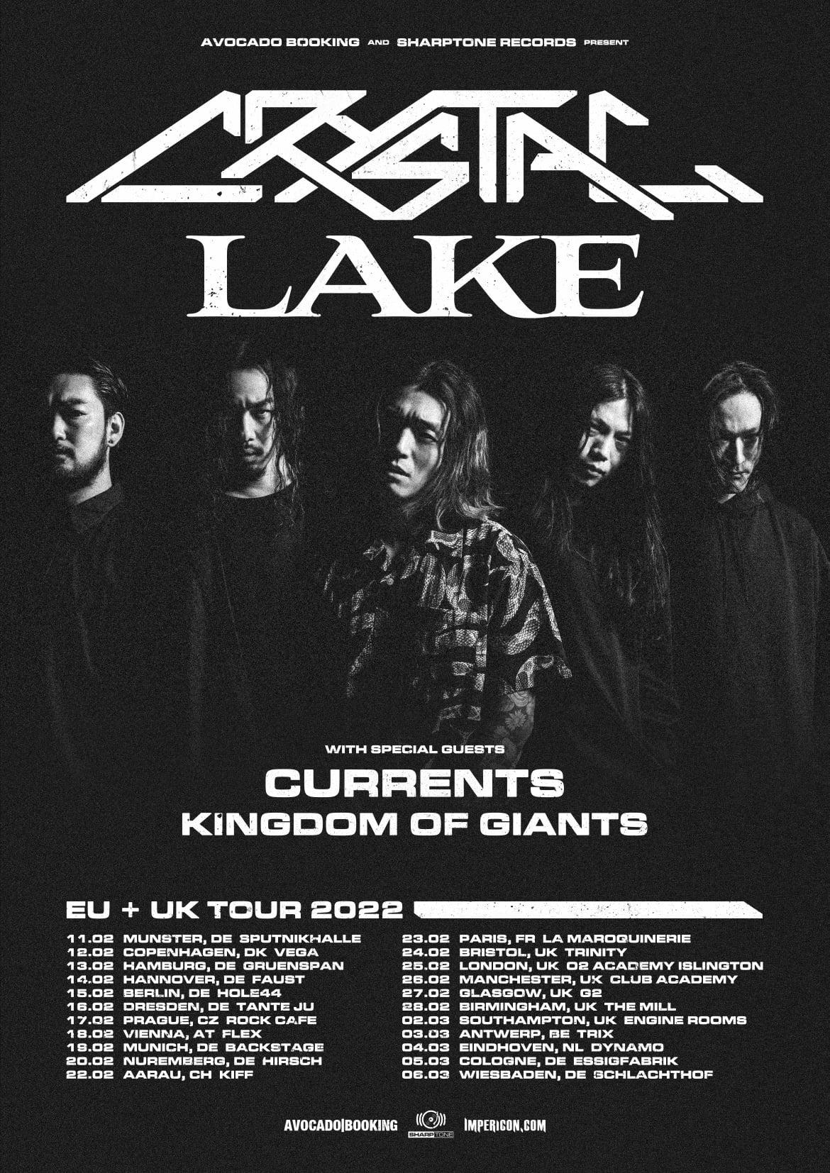 Crystal lake eu uk tour 2022