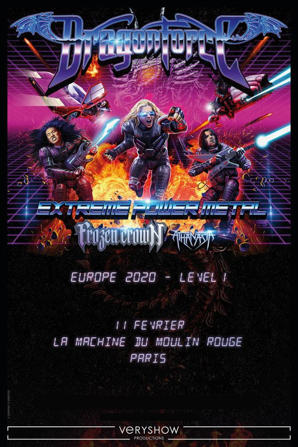 Dragonforce paris 2020