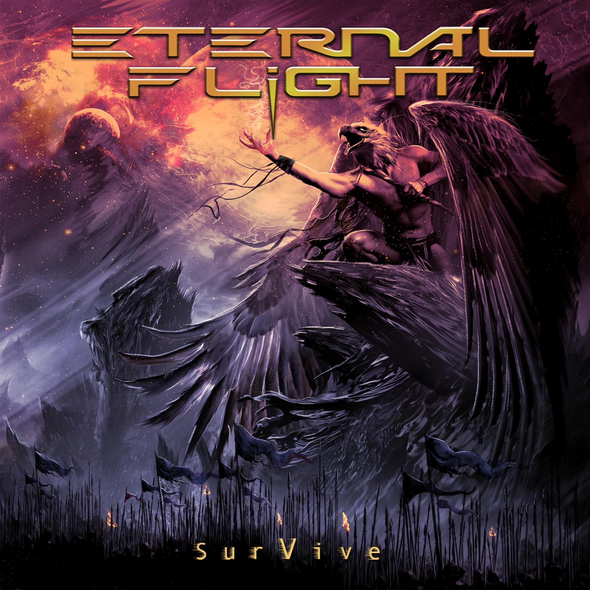 Ef survive cd art cover 2021