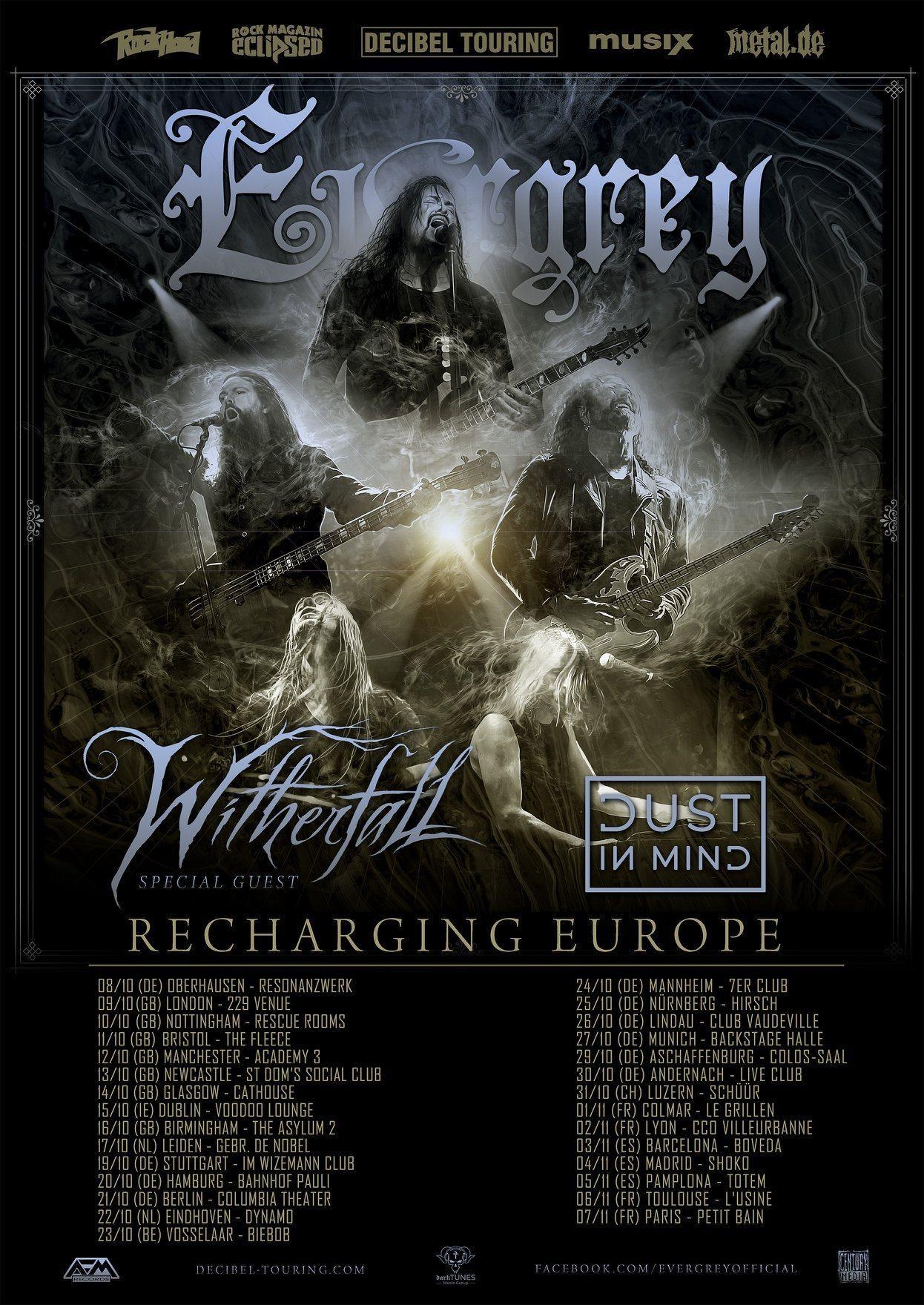 Evergrey tour 2021