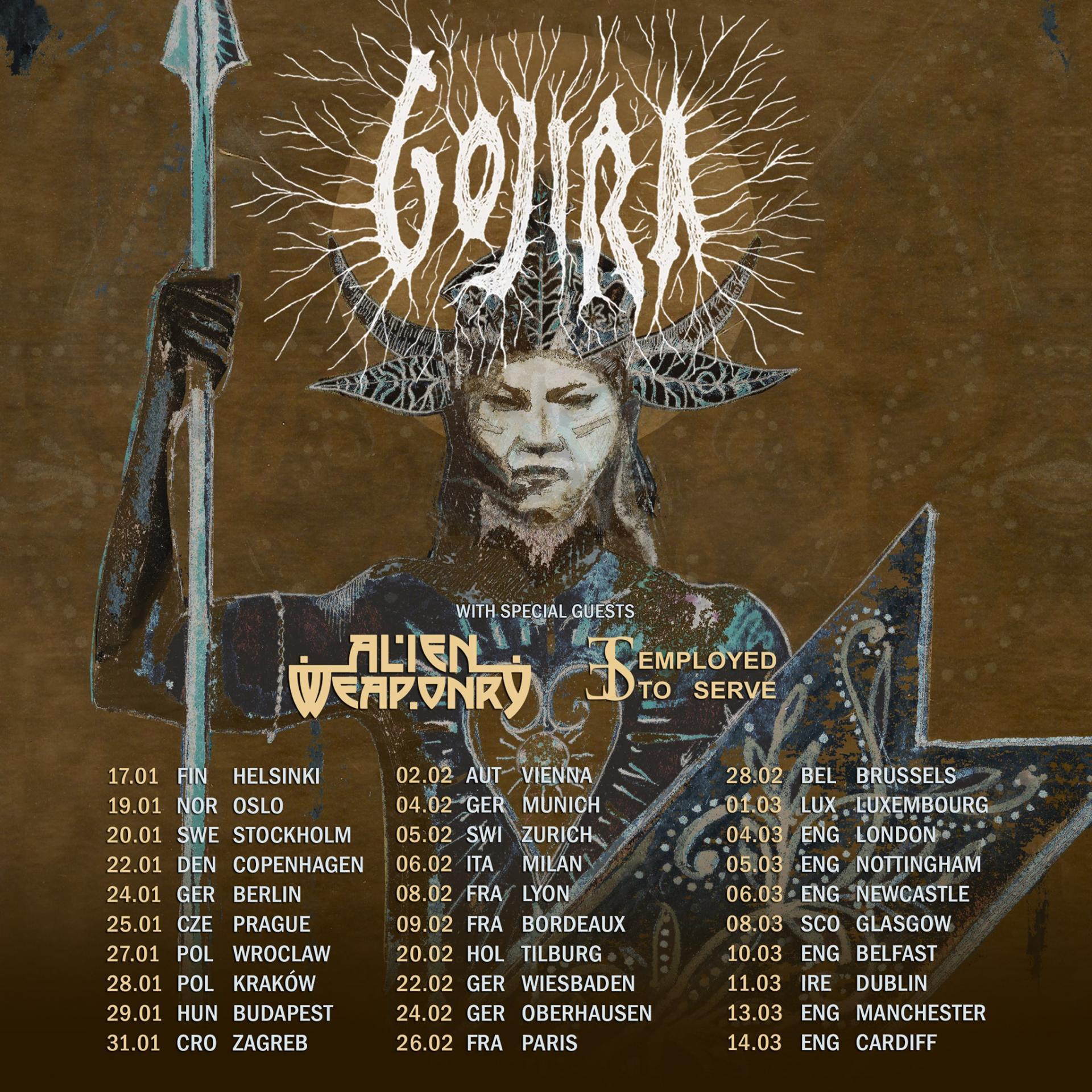 Gojira tour 2022