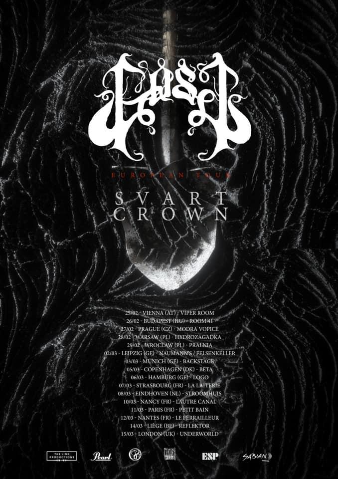Gost svart crown euro tour 2020