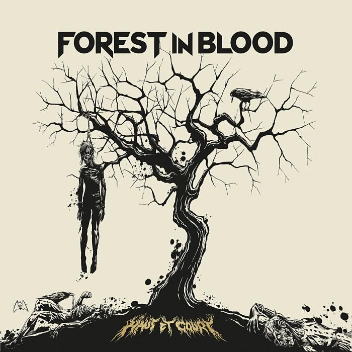 Haut et court forest in blood
