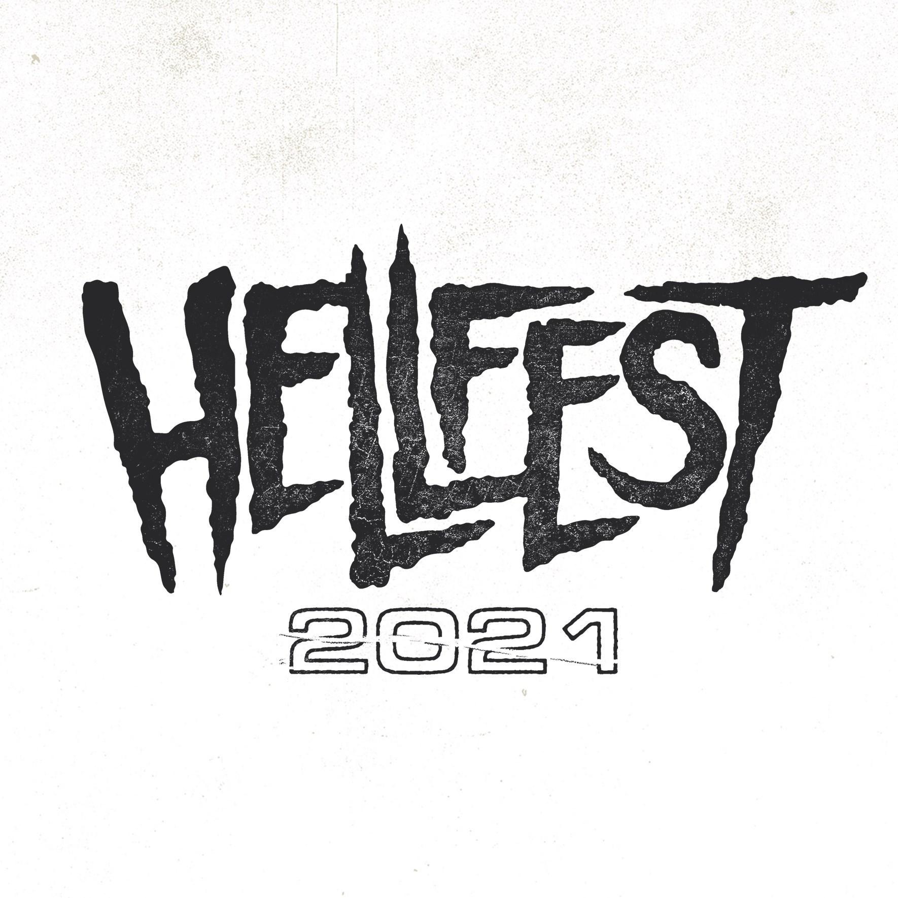 Hellfest 2021 font blanc