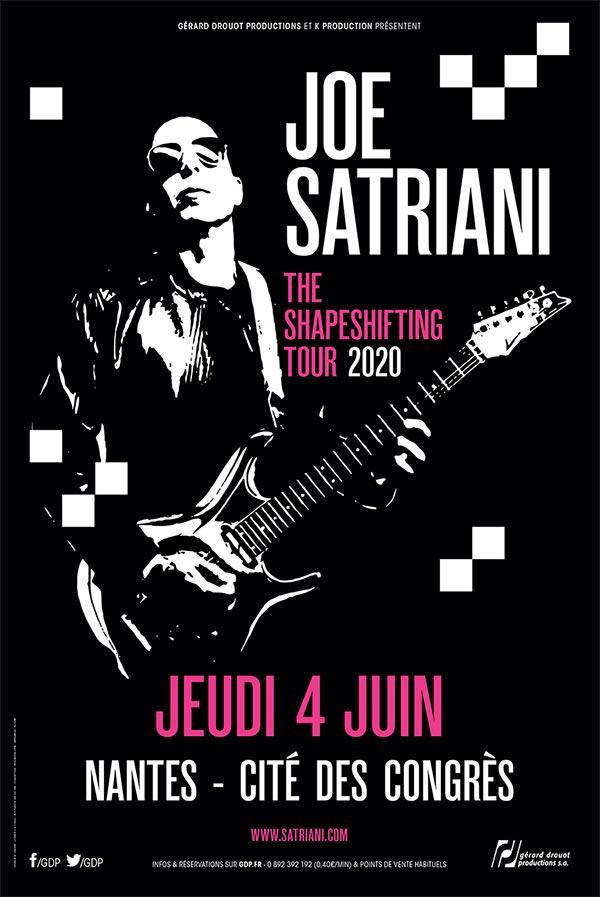Joe satriani nantes 2020