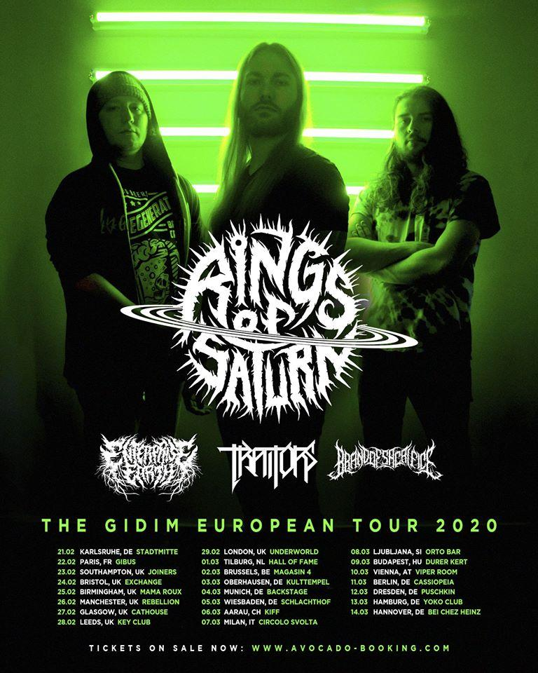 Rings of saturn euro tour 2020