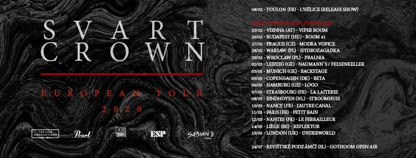 Svart crown tour 2020